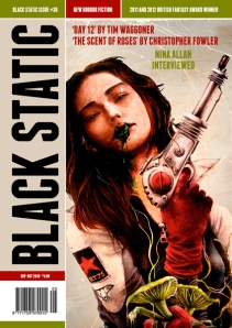 Black static 36 cover